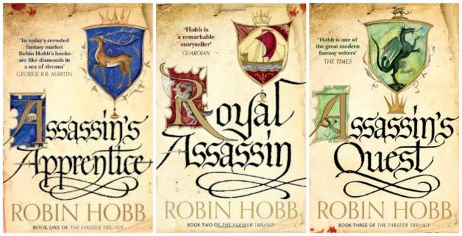 Farseer trilogy Robin Hobb