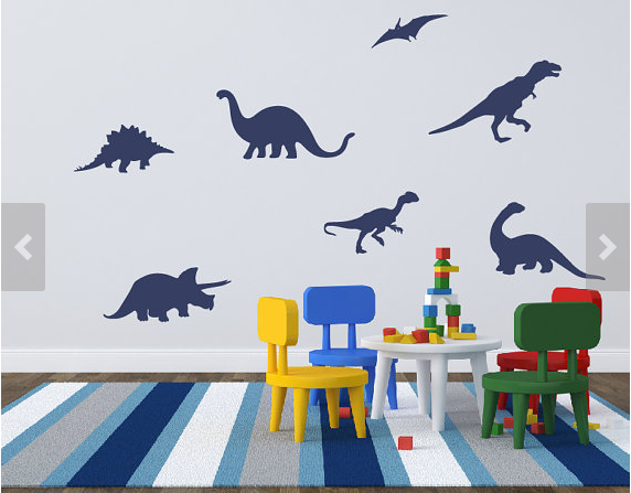 Dinosaur Decals on Etsy - Life by Naomi