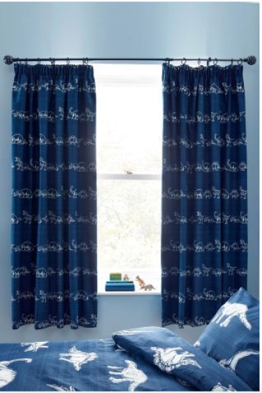 Dinosaur Curtains from Next - Life by Naomi