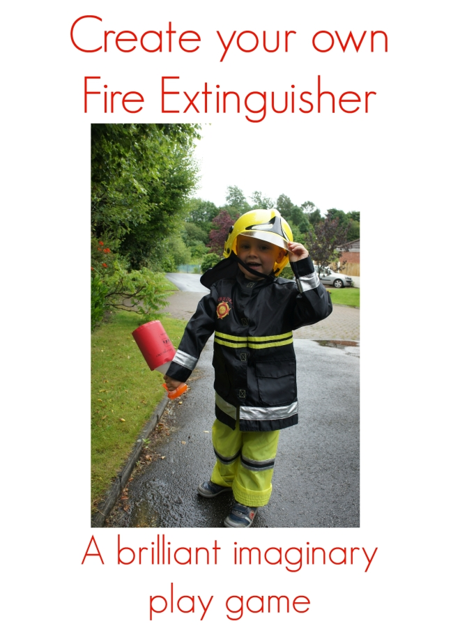 Fire Extinguisher Craft - Life by Naomi
