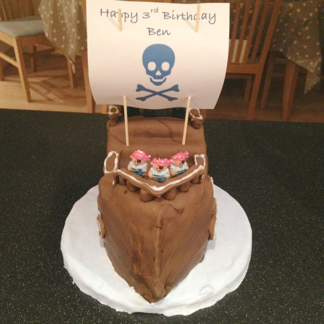Pirate Birthday Cake - Life by Naomi